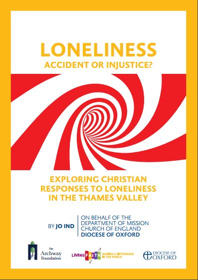 The front cover of Loneliness: Accident or injustice? by Jo Ind