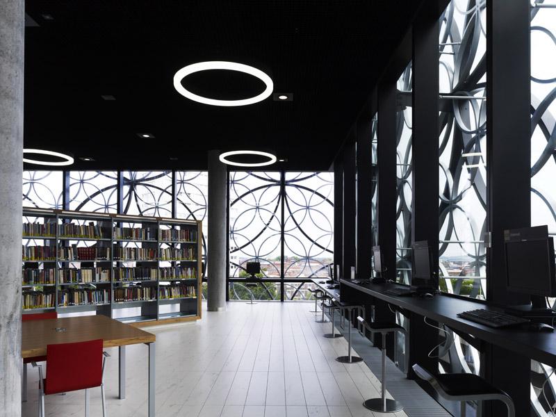 Image result for birmingham library inside